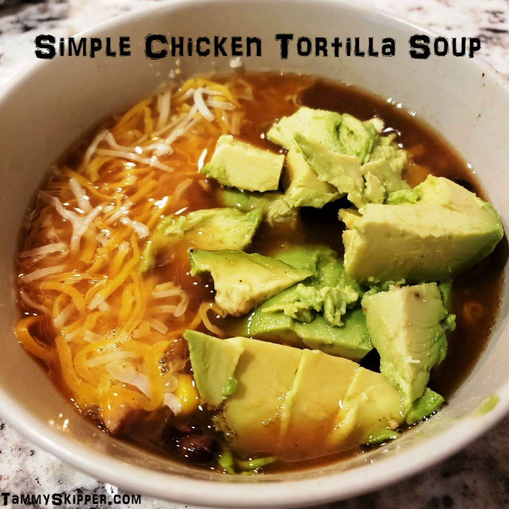Chicken Tortilla Soup at Tammy Skipper Pin