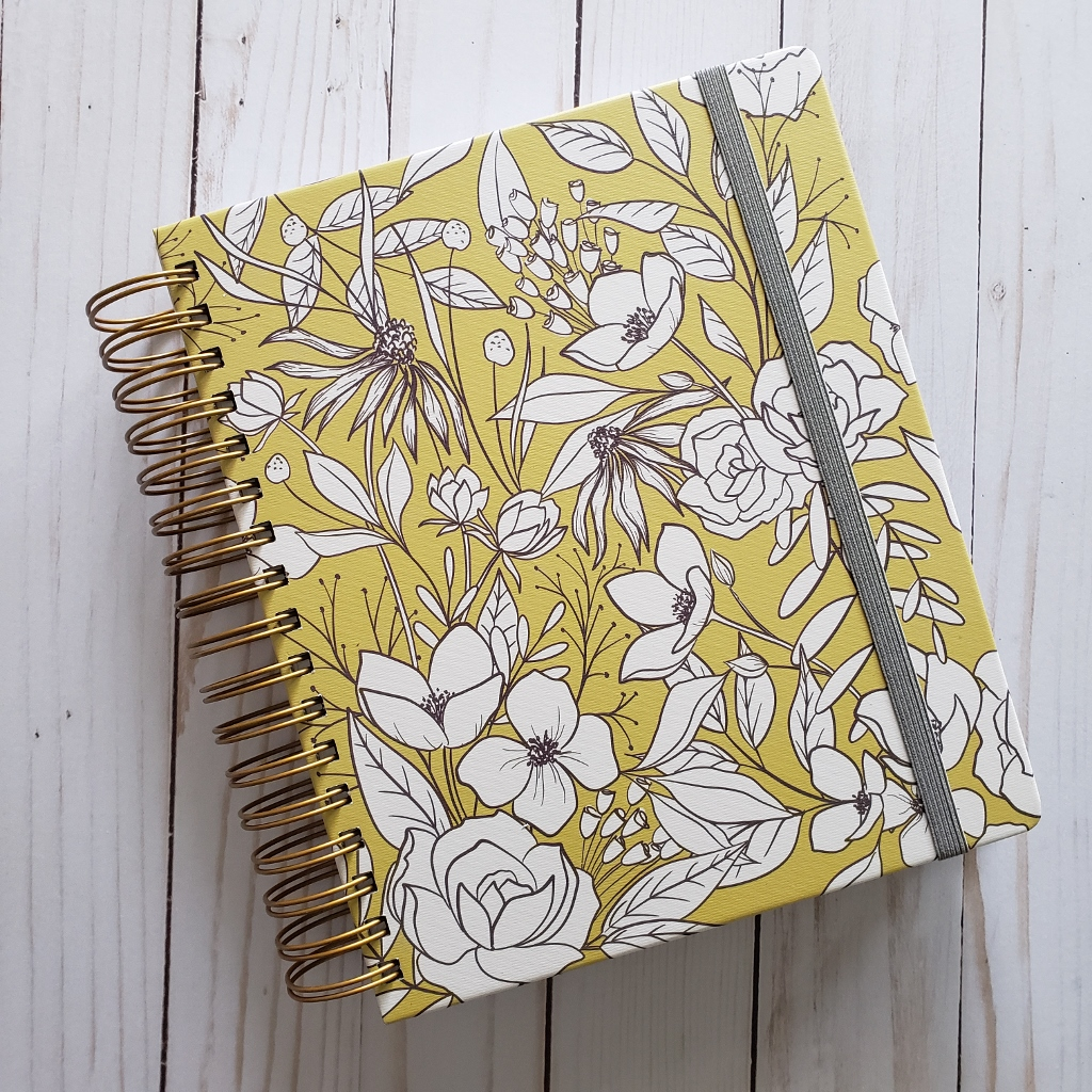 MakseLife Goal Planner Yellow Cover