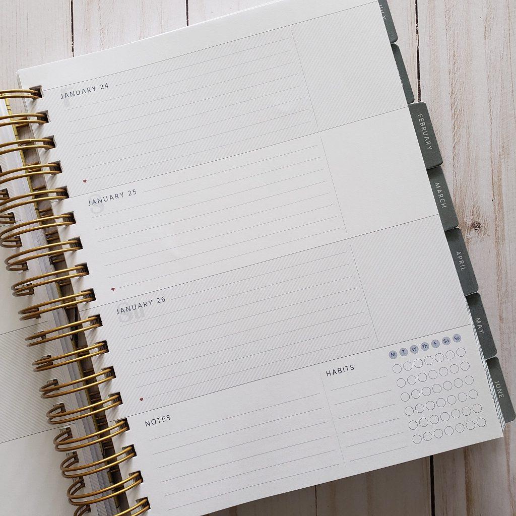 MakseLife Goal Planner Horizontal