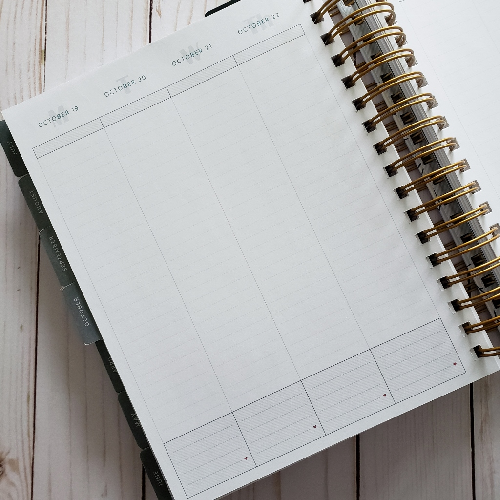 MakseLife Goal Planner Vertical Page